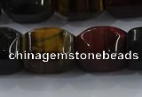 CNG6427 15.5 inches 15*20mm faceted nuggets mixed tiger eye beads