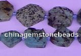 CNG7616 15.5 inches 10*12mm - 15*16mm freeform African Turquoise beads