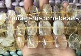 CNG7778 15.5 inches 13*18mm - 15*25mm faceted freeform citrine beads