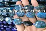 CNG7821 15.5 inches 13*18mm - 18*25mm faceted freeform apatite beads
