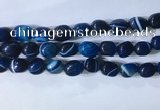 CNG8231 15.5 inches 12*16mm nuggets striped agate beads wholesale