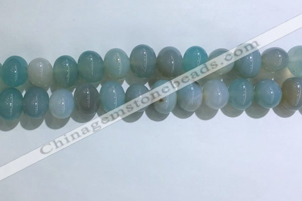 CNG8368 15.5 inches 12*16mm nuggets agate beads wholesale