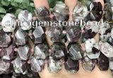 CNG8552 15.5 inches 13*18mm - 15*25mm faceted freeform tourmaline beads
