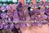 CNG8592 12*16mm - 13*18mm faceted nuggets ametrine beads
