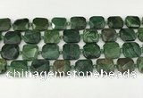 CNG8823 15.5 inches 16mm - 20mm faceted freeform african jade beads