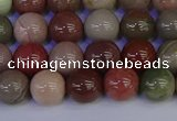 CNI352 15.5 inches 8mm round imperial jasper beads wholesale