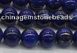 CNL1002 15.5 inches 8mm round A grade natural lapis lazuli beads