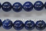 CNL221 15.5 inches 12mm round natural lapis lazuli beads wholesale