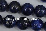 CNL408 15.5 inches 16mm round natural lapis lazuli gemstone beads