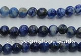 CNL711 15.5 inches 4mm round natural lapis lazuli gemstone beads