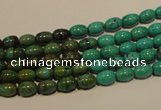 CNT116 15.5 inches 4*6mm rice natural turquoise beads wholesale