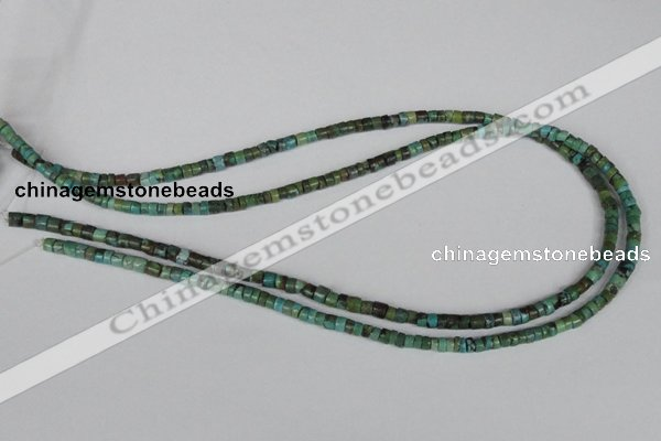 CNT19 16 inches 2-4mm heishi natural turquoise beads wholesale