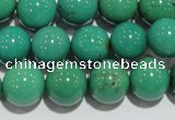 CNT209 15.5 inches 10mm round natural turquoise beads wholesale