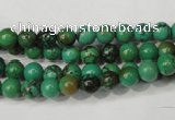 CNT351 15.5 inches 6mm round turquoise beads wholesale