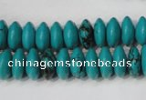 CNT364 15.5 inches 5*12mm rondelle turquoise beads wholesale