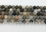 COP1602 15.5 inches 8mm round moss opal beads wholesale