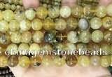 COP1762 15.5 inches 12mm round yellow opal beads wholesale