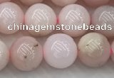COP1781 15.5 inches 8mm round pink opal gemstone beads