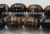 COP227 15.5 inches 15*20mm egg-shaped natural brown opal gemstone beads