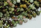 COS01 15.5 inches 5*9mm bone shape ocean stone beads wholesale