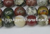COS222 15.5 inches 8mm round ocean stone beads wholesale