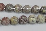 COT03 15.5 inches 12mm round osmanthus stone beads wholesale