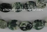 COV100 15.5 inches 12*14mm oval tree agate beads wholesale