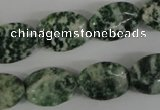 COV131 15.5 inches 13*18mm oval tree agate gemstone beads wholesale