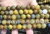 CPB1053 15.5 inches 10mm round golden pietersite beads wholesale