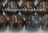 CPB1073 15.5 inches 10mm round peter stone beads wholesale