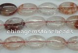 CPQ43 15.5 inches 10*14mm oval natural pink quartz beads