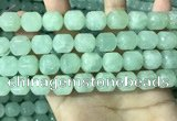 CPR384 15.5 inches 12*13mm tube prehnite gemstone beads
