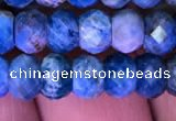 CRB1989 15.5 inches 4*6mm faceted rondelle apatite beads wholesale