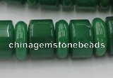 CRB202 15.5 inches 6*18mm - 13*18mm rondelle green aventurine beads