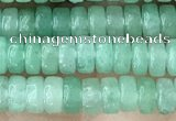 CRB2554 15.5 inches 2*4mm heishi green aventurine beads wholesale