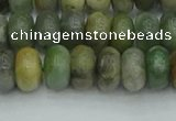 CRB2832 15.5 inches 6*10mm rondelle jade gemstone beads