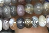 CRB3069 15.5 inches 4*6mm rondelle Botswana agate beads