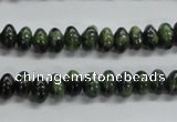 CRB40 15.5 inches 5*8mm rondelle canadian jade gemstone beads