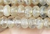 CRB4032 15.5 inches 4*6mm rondelle yellow watermelon beads wholesale