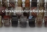 CRB493 15.5 inches 5*8mm tyre botswana agate beads wholesale