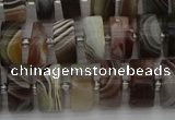 CRB495 15.5 inches 6*12mm tyre botswana agate beads wholesale