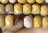 CRB5120 15.5 inches 4*6mm faceted rondelle mookaite beads wholesale