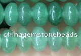 CRB5301 15.5 inches 4*6mm rondelle green aventurine beads