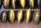 CRB5356 15.5 inches 5*8mm rondelle yellow tiger eye beads wholesale