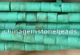 CRB5522 15 inches 2*2mm heishi synthetic turquoise beads wholesale