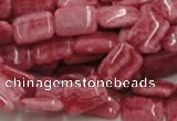 CRC16 16 inches 10*14mm rectangle rhodochrosite beads wholesale
