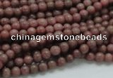CRC50 15.5 inches 4mm round rhodochrosite gemstone beads wholesale