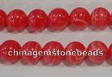 CRC503 15.5 inches 10mm round synthetic rhodochrosite beads