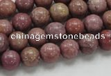 CRC53 15.5 inches 10mm round rhodochrosite gemstone beads wholesale