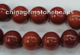 CRE28 15.5 inches 12mm round red jasper gemstone beads wholesale